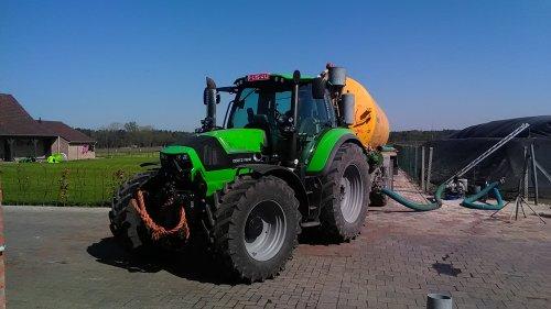 Deutz-Fahr Agrotron 6190 TTV van eicher4048driver