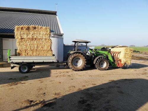 Deutz-Fahr Agrofarm 420 van boer_bert0