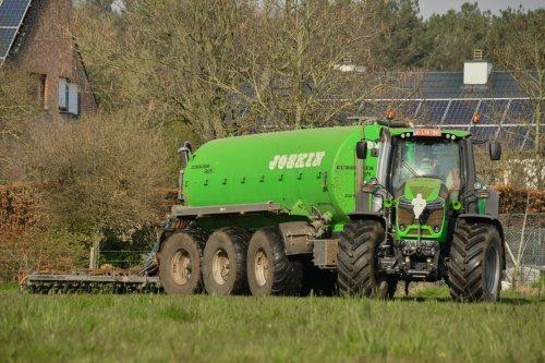 Foto van een Deutz-Fahr 9340 TTV. Geplaatst door jd7920 op 29-03-2020 om 12:40:01, op TractorFan.nl - de nummer 1 tractor foto website.