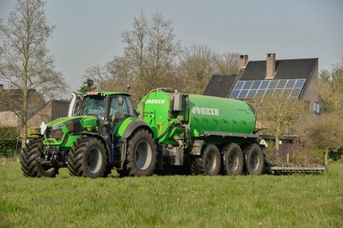 Foto van een Deutz-Fahr 9340 TTV. Geplaatst door jd7920 op 29-03-2020 om 12:40:03, op TractorFan.nl - de nummer 1 tractor foto website.
