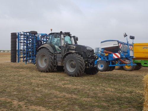 Foto van een Deutz-Fahr 9340 TTV warrior. Geplaatst door collin ihfan op 09-04-2020 om 22:50:18, op TractorFan.nl - de nummer 1 tractor foto website.