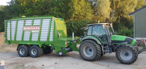 Deutz-Fahr Agrotron 150 van GROENEDEERE