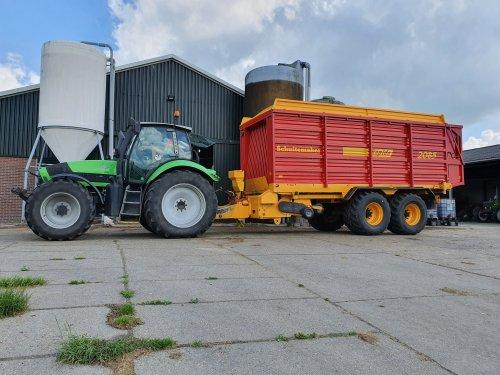 Deutz-Fahr Agrotron TTV 620 van Ronijn