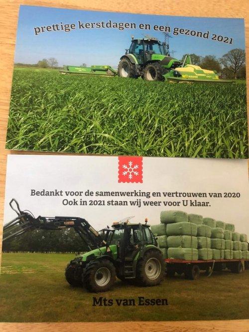 Foto van een Deutz-Fahr Agrotron namens mts van essen fijne feestdagen en een gezond 2021  Klik en like de Facebook pagina en blijft op de hoogte https://m.facebook.com/pages/category/Dairy-Farm/Melkveehouderij-mts-van-Essen-377122779788675/