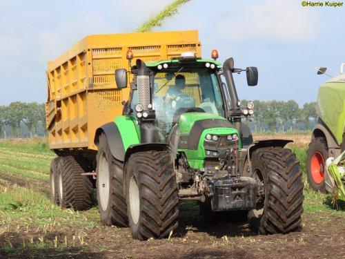 Foto van een Deutz-Fahr Agrotron 6190 TTV van Loonbedrijf Gerrits (Zwinderen) ×.. Geplaatst door oldtimergek op 18-01-2021 om 11:13:16, op TractorFan.nl - de nummer 1 tractor foto website.