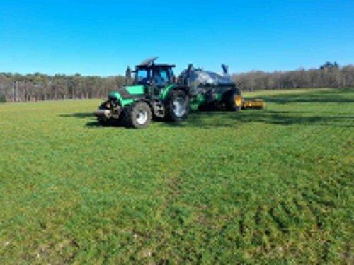 Foto van een Deutz-Fahr M600. Geplaatst door Swenny op 02-03-2021 om 11:05:01, op TractorFan.nl - de nummer 1 tractor foto website.