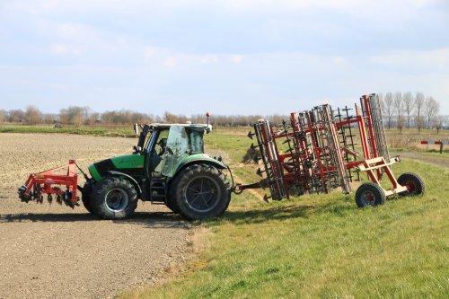 Foto van een Deutz-Fahr Agrotron K 100. Geplaatst door alfredo op 26-03-2021 om 13:38:53, op TractorFan.nl - de nummer 1 tractor foto website.