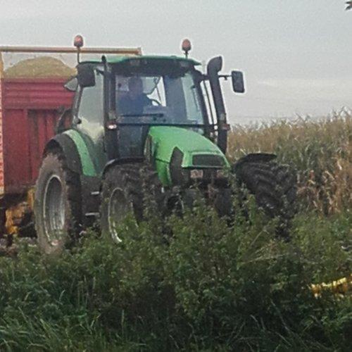 Foto van een Deutz-Fahr Agrotron 115. Geplaatst door eric de haaij op 30-03-2021 om 19:49:56, op TractorFan.nl - de nummer 1 tractor foto website.