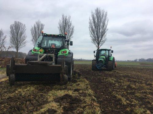 Foto van een Deutz-Fahr Meerdere. Geplaatst door Justin.JOHNDEERE op 10-04-2021 om 21:17:34, op TractorFan.nl - de nummer 1 tractor foto website.