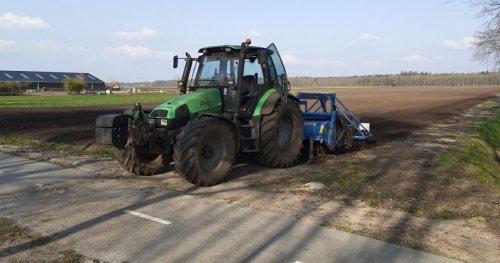 Foto van een Deutz-Fahr Agrotron 115. Geplaatst door Martijn kroeze op 16-05-2021 om 21:27:24, op TractorFan.nl - de nummer 1 tractor foto website.