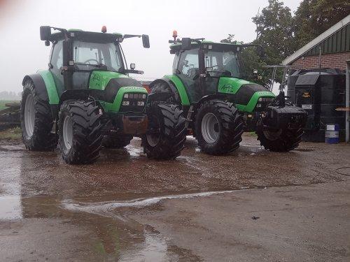 Vandaag weer twee trekkers schoon gespoten. Geplaatst door deutz fen op 13-07-2021 om 15:07:28, op TractorFan.nl - de nummer 1 tractor foto website.