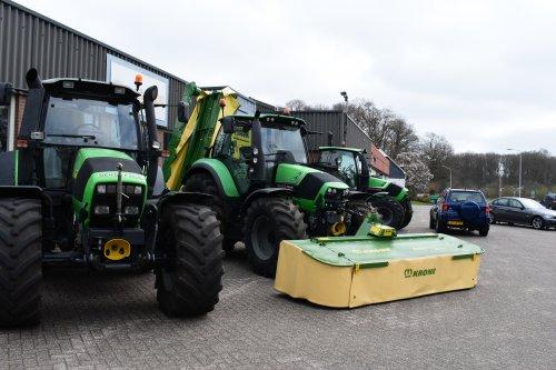 Foto van een Deutz-Fahr Agrotron. Geplaatst door jordi 1455 op 27-07-2021 om 23:08:24, op TractorFan.nl - de nummer 1 tractor foto website.