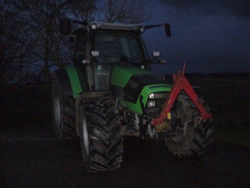 Deutz-Fahr Agrotron K 430 van Kukel
