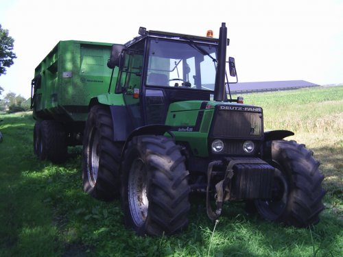 Deutz-Fahr Agroprima 4.56 van Opraapwagen