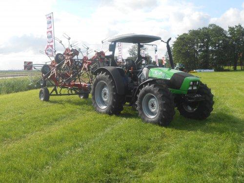 Deutz-Fahr Agrofarm 100 van Landbouwsluis
