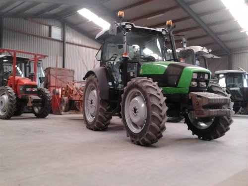 Deutz-Fahr Agrofarm 430 van same silver 110