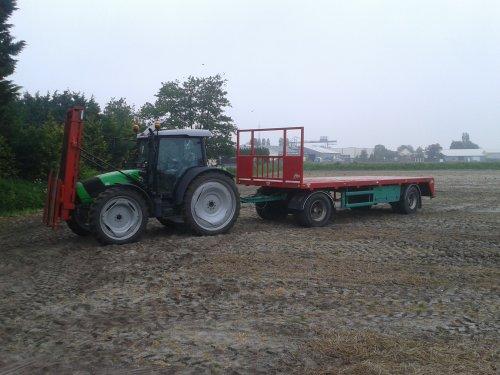 Deutz-Fahr Agrofarm 420 van Maartes