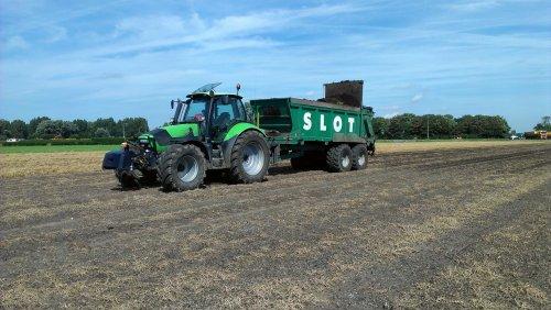 Deutz-Fahr Agrotron TTV 1160 van kosdeutz