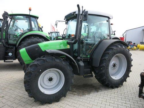 Deutz-Fahr Agrofarm 420 van Haye
