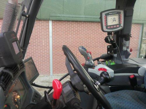 Deutz-Fahr Interieur van bikkertie