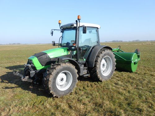 Deutz-Fahr Agrofarm 420 van Landbouwsluis
