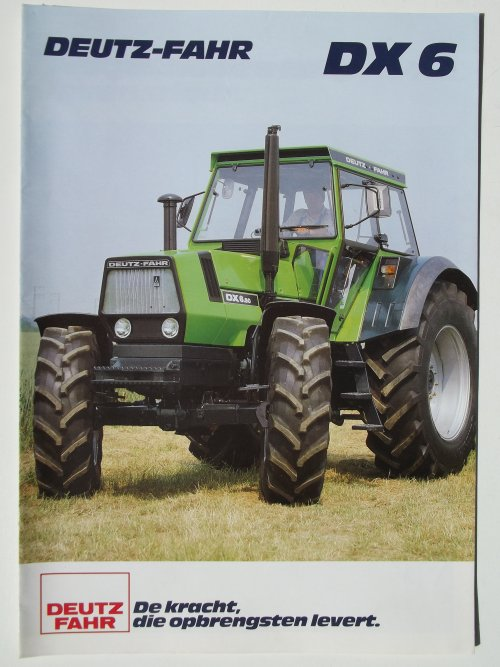 Deutz-Fahr folder van Trekkerman Tom