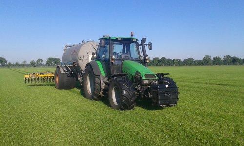 Deutz-Fahr Agrotron 115 van Emmink