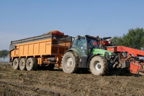 Deutz-Fahr Agrotron 165 van collin ihfan