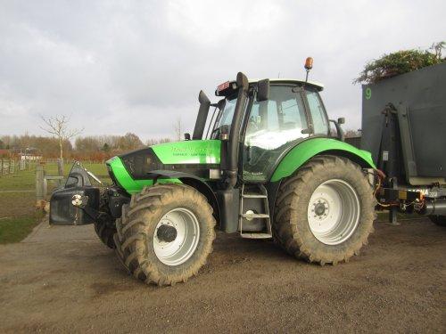 Foto van een Deutz-Fahr Agrotron M 620. Geplaatst door jdeutz6190 op 23-03-2016 om 18:04:25, op TractorFan.nl - de nummer 1 tractor foto website.