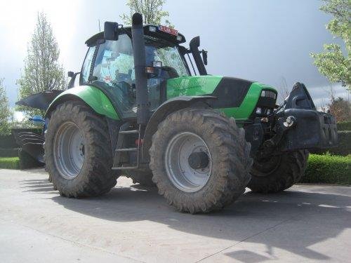 Foto van een Deutz-Fahr Agrotron M 620. Geplaatst door jdeutz6190 op 17-04-2016 om 16:18:36, op TractorFan.nl - de nummer 1 tractor foto website.