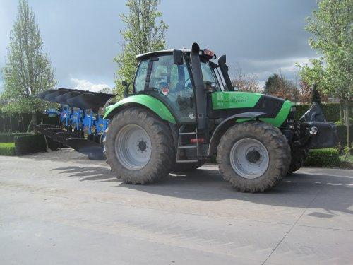 Foto van een Deutz-Fahr Agrotron M 620. Geplaatst door jdeutz6190 op 23-04-2016 om 11:20:02, op TractorFan.nl - de nummer 1 tractor foto website.