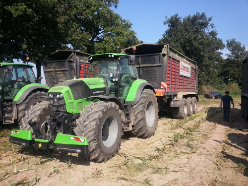 Deutz-Fahr Agrotron TTV 7.260 van jans-eising