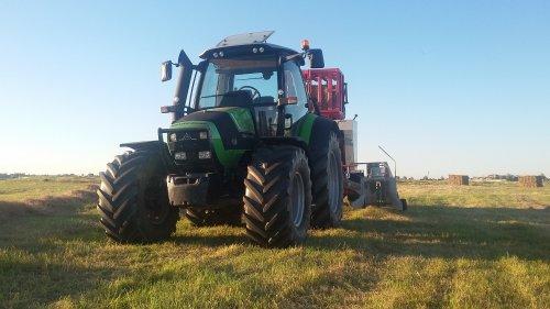 Deutz-Fahr Agrotron TTV 420 van NHPowersz