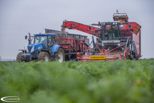 De nieuwste generatie van Dewulf rooiers in actie!!. Geplaatst door Jan Ramon op 26-11-2016 om 16:12:03, op TractorFan.nl - de nummer 1 tractor foto website.