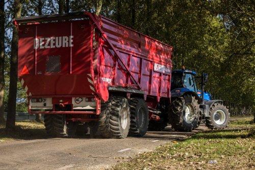 Dezeure Silagewagen van LandbouwLeistra
