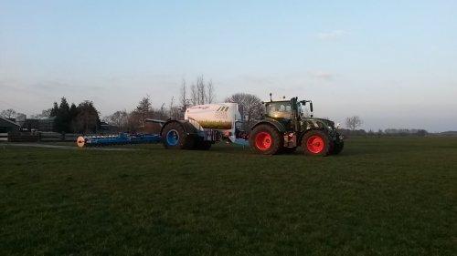 Duport Liquiliser, 6300 liter tank  in combinatie met een 12 meter bemester. Geplaatst door moarten op 14-03-2015 om 19:51:42, op TractorFan.nl - de nummer 1 tractor foto website.