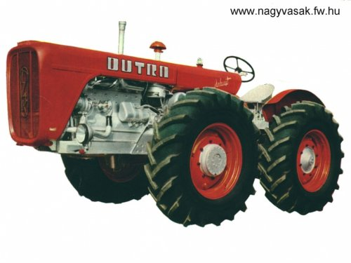 Dutra D4K van hanomagfarm