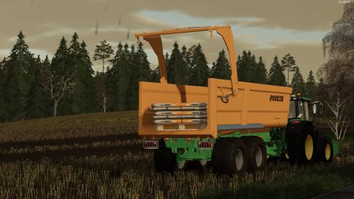 Foto van een Farming Simulator John Deere. Geplaatst door rolandfotografie op 06-12-2019 om 19:43:13, op TractorFan.nl - de nummer 1 tractor foto website.