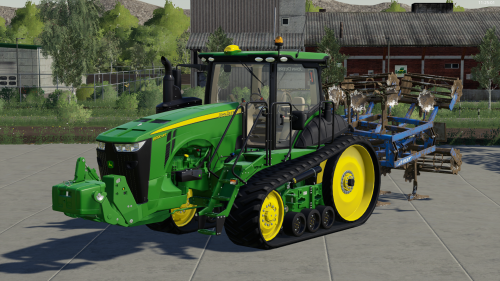 Foto van een Farming Simulator John Deere. Geplaatst door rolandfotografie op 06-12-2019 om 19:43:14, op TractorFan.nl - de nummer 1 tractor foto website.