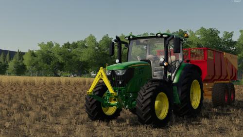 Foto van een Farming Simulator John Deere. Geplaatst door rolandfotografie op 06-12-2019 om 19:43:15, op TractorFan.nl - de nummer 1 tractor foto website.
