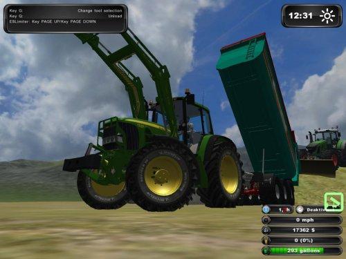 Foto van een Farming Simulator john deere. Geplaatst door johndeere6220 op 23-06-2011 om 17:19:24, op TractorFan.nl - de nummer 1 tractor foto website.