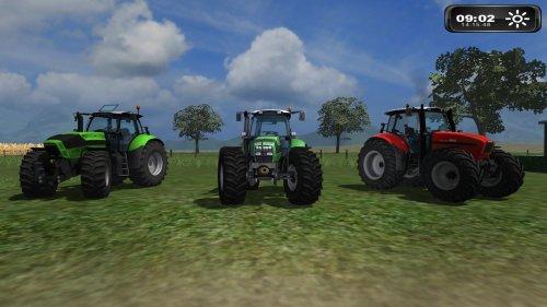 Foto van een Farming Simulator TTV 630, M640 en iron 165.7.. Geplaatst door NHSanderJD op 10-07-2011 om 14:19:41, met 19 reacties.