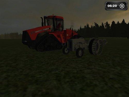 Foto van een Farming Simulator massey ferguson.. Geplaatst door Davie Landinifan op 01-01-2012 om 12:16:39, met 2 reacties.