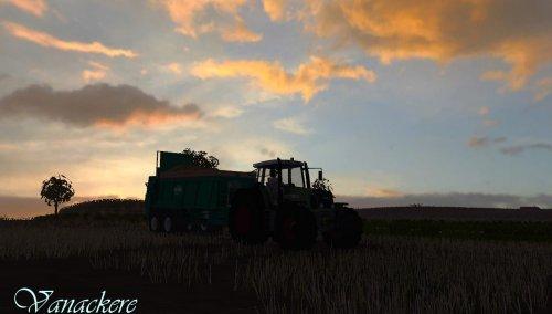 Foto van een Farming Simulator Fendt, bezig met bemesten.. Geplaatst door wouter05 op 30-01-2012 om 19:49:38, met 3 reacties.