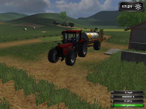 Farming Simulator Case Internationaal, de giertank aan het vullen voor het bemesten.. Geplaatst door jim 9116 op 08-05-2012 om 20:21:26, met 5 reacties.