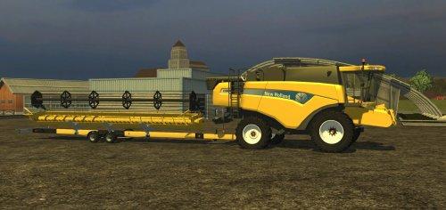 Foto van een Farming Simulator New Holland, bezig met maaidorsen.  nieuwe aanwinst :P. Geplaatst door zetordrivertimo op 09-12-2012 om 18:56:33, met 2 reacties.