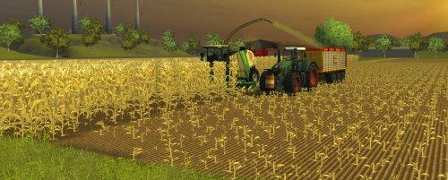 Farming simulator 2013. Bezig met mais hakselen met een Fendt 936 En een Krone combine.. Geplaatst door StefanZ op 18-12-2012 om 20:03:04, met 25 reacties.