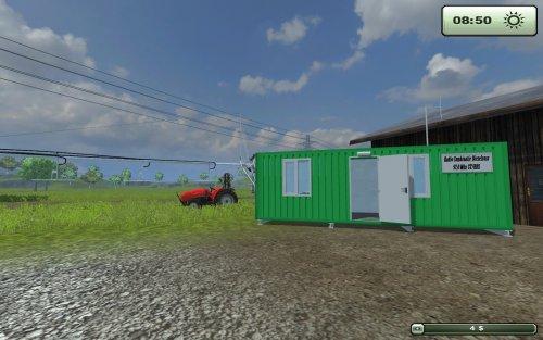 Foto van een Farming Simulator Eigen bouw, bezig met poseren.  Zendkeet en Mast ingeklapt.. Geplaatst door rikkiefendt op 11-08-2013 om 17:41:08, op TractorFan.nl - de nummer 1 tractor foto website.