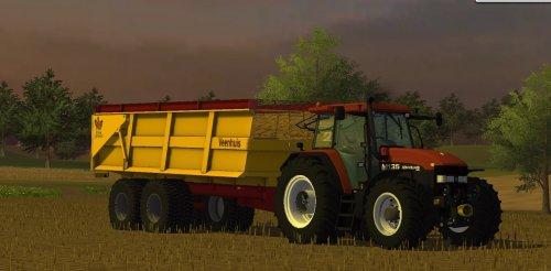 Foto van een Farming Simulator New Holland, bezig met poseren.. Geplaatst door zetordrivertimo op 22-09-2013 om 19:37:25, met 6 reacties.