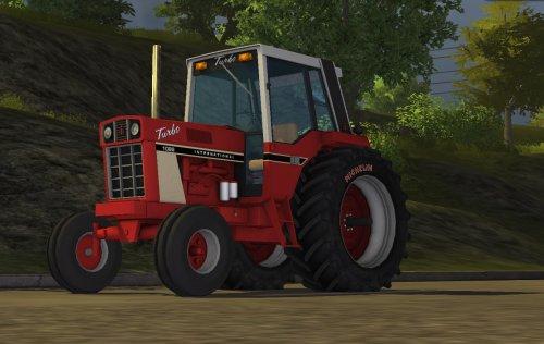 Foto van een Farming Simulator Case Internationaal, bezig met poseren.. Geplaatst door zetordrivertimo op 13-10-2013 om 17:11:07, met 6 reacties.